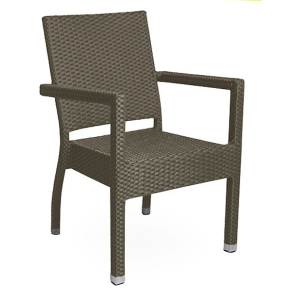 fauteuil de terrasse tressage pvc bronze cre 216 m gd office. Black Bedroom Furniture Sets. Home Design Ideas
