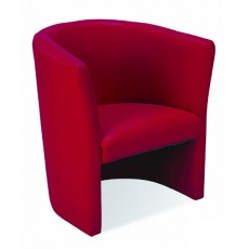 NS-CLUB-R Fauteuil club rouge