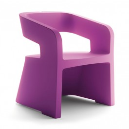 SK-KARLA-XV Fauteuil 1 place violet