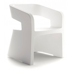 SK-KARLA-XBL Fauteuil 1 place blanc